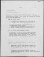 Draft report: Sheltered Employment, December 1, 1980