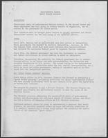 "Report titled ""Undocumented Worker Guest Worker Program"", undated"