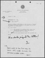Memorandum from Karl Rove to Governor William P. Clements, Jr., August 5, 1981