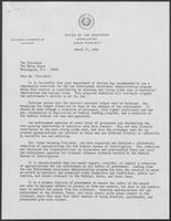Letter from William P. Clements to President Jimmy Carter, March 13, 1980