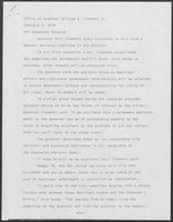 Press release from the Office of Governor William P. Clements, Jr. regarding formation of the Mayors' Advisory Committee to the Governor, February 7, 1979