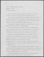 Press release from the Office of Governor William P. Clements, Jr. regarding appointments, September 3, 1981