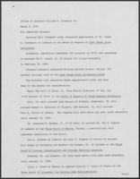Press release from the Office of Governor William P. Clements, Jr., regarding appointments, March 5, 1979