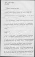 Transcript of Governor William Clements, Jr.'s, press conference, May 27, 1982