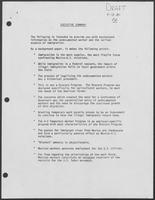 Draft of Executive Summary regarding undocumented workers and immigration, April 13, 1981