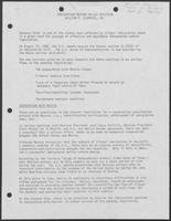 "Report titled ""Immigration Reform Policy Position,"" undated"