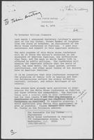 Correspondence between Jimmy Carter to William P. Clements regarding White House Conference on Families, May 9-June 12, 1979