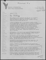 Memo from Jim Veninga to Dave Akers regarding appointments, January 17, 1979