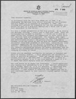 Correspondence between William J. Bennett, William P. Clements, and Rider Scott regarding illegal narcotics activity, 1989