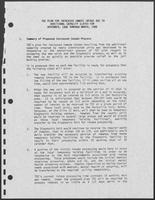 TDC Plan for Increased Inmate Intake Due to Additional Capacity Slated for November, 1988 through March, 1990, undated