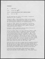 Memo from Gilbert Pena to Rider Scott regarding United States-Mexico Treaty Transfer Program, April 25, 1989
