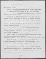 Press release from the Office of Governor William P. Clements, Jr. regarding appointments, October 19, 1979