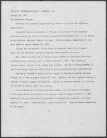 Press release from the Office of Governor William P. Clements, Jr. regarding appointments, January 29, 1981