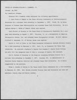 Press release from the Office of Governor William P. Clements, Jr. regarding appointments, January 29, 1982