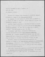 Press release from the Office of Governor William P. Clements, Jr. regarding appointments, April 25, 1979