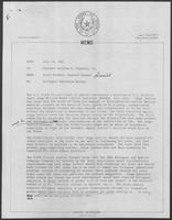 Memo from David Herndon to William P. Clements Jr., regarding Bilingual Education Ruling, July 13, 1982