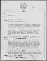Memo from David A. Dean to William P. Clements regarding Texas Felony Habitual Statute, January, 23 1981