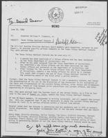 Memo from David A. Dean to William P. Clements regarding Texas Felony Habitual Statute, 26 June 1980