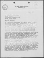Letter from William P. Clements to Stuart Symington, August 1, 1973