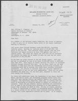 Letter from Bob Anderson to William P. Clements, January 10, 1974