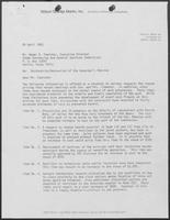 Letter from Craig A. Estes to Homer A. Foerster, April 29, 1981