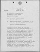 Memo from David Dean to William French Smith regarding redistricting, November 30, 1981