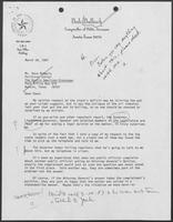Letter from Bob Bullock to Dave McNeely, March 18, 1987