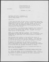 Letter from Peter O'Donnell to William P. Clements, December 11, 1990
