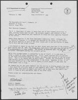 Letter from Floyd Edwards, Regional Administrator, Department of Labor, to Governor William P. Clements, Jr., February 2, 1988
