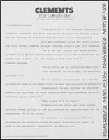 Press release: Energy--Comments on plan of President Jimmy Carter, March 21, 1978