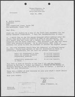 Letter from Peter O'Donnell, Jr. to W. Arthur Porter, June 16, 1986