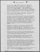 ALFOR Arbitation brief regarding disputes between SEDCO and Sonatrach, April 1985