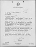 Letter from Ed Vetter to William P. Clements regarding liability, December 13, 1988