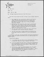 Memo from B.D Daniel to Mary Jane regarding Bilingual Education Decision of the Fifth Circuit, July 13, 1982