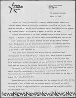 Press release from the Clements Campaign regarding the Attorney General's Office, August 23, 1982