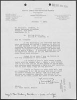Letter from Richard H. Lewis to William P. Clements Jr., December 18, 1974