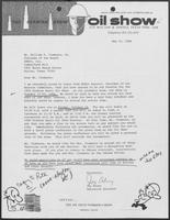 Letter from Jay Alvey to William P. Clements, Jr., May 16, 1984
