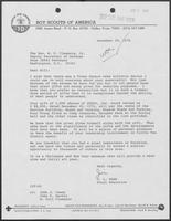 Letter from J.L. Tarr to William P. Clements regarding Donations, December 29, 1976