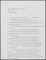 News release from the Office of Governor William P. Clements, Jr., regarding recent appointment, October 30, 1979