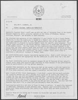 Memo from David A. Dean to Governor William P. Clements, Jr., regarding Ozarks Regional Commission membership, December 21, 1979