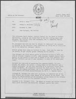 Memo from Johnny McCollum to David A. Dean, regarding Juan Enriquez, TDC #227122, December 9, 1980