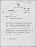 Memorandum from Paul T. Wrotenbery to Doug Brown, July 11, 1980