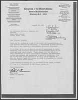 Letter from Phil Gramm to William P. Clements, Jr., August 18, 1980