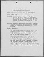 Report regarding William P. Clements Jr.'s meeting with Texas Association of Realtors, June 8, 1978