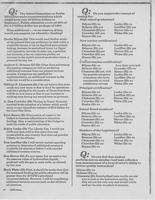 Article surveying Texas political candidates on their education policy positions, March-April 1986