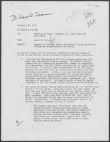 Memo from Edward Vetter to William P. Clements, David Dean and David Marks, September 26, 1979, regarding Comments on Position Papers for National Energy Assistance Program and Deregulation of Oil Prices