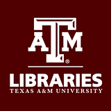 Logo for the Cushing Memorial Library & Archives, Texas A&M University