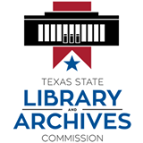 Logo for Texas State Library and Archives Commission