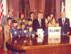 Governor Clements meets with Cub Scouts and Boy Scouts, February 10, 1979. Photo courtesy of Texas State Library and Archives Commission