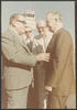 Governor Clements greeted by local officials during official visit to Chihuahua, Mexico, October 1979. Detail taken from e_cle_005821.